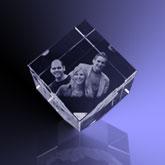 3d Glazen Kubus.Kubus Hoek Uw Foto 2d Of 3d In Kristal Glas Spiegels