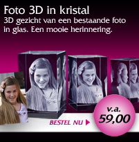 Uw foto 2d of 3d in kristal glas spiegels sieraad porselein of canvasdoek - Driedimensionale spiegel ...